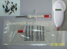 RFID syringe with microchip for animal,transponder,microchip