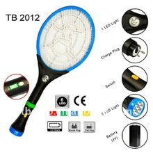 7LED flashlight multifunction mosquito swatter TB 2012