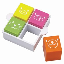 "Bread Cutter and Stamp ""Animal"" / sandwich mold, onigiri, kids lunch box, vegetable cutter"