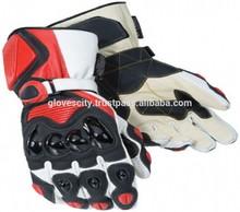 nuovo biker pelle bovina motocicletta dovere motociclo pesante raccolta guanti impermeabili