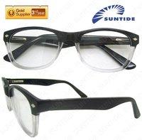 2013 Half Rim Acetate Latest Novelty Eyeglasses wholesale B43351