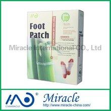 100% Natural herbal & bamboo vinegar foot detox patch