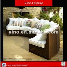 Italian Sofa Wicker Set Rattan Patio Furniture RC1075