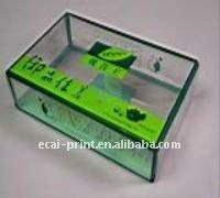 Acrylic clear plastic box