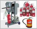 Extintor de incêndio máquinadeenchimento/pó seco máquina de enchimento