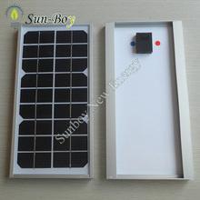 Monocrystalline 6V 5W Small Solar Panel