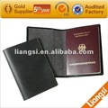 de cuero de vaca pasaporte cubierta