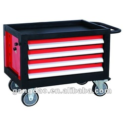 GRS400 four drawers small aluminium tool box