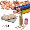 3.5/7inch wooden sharpened promotion kids Color Pencil set