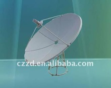 C-band 120cm flat satellite dish antenna high quality c band satellite dish antenna