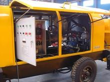 Elettrico rimorchio montata pompa per calcestruzzo 20~60