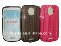 Diamond Veins TPU Gel Skin Case For Huawei Ideos X3/U8510