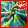 100% Microfibre Polyester Printed Coral Fleece