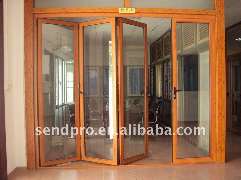 2013 nueva de la puerta para 2 0 mm de espesor de pared de - Puerta plegable madera ...