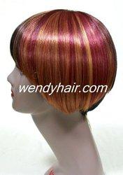 Pop bright light color wigs