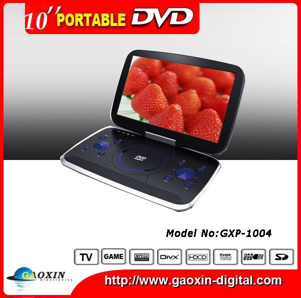 """10"""" portable DVD player (GXP-1004)"""