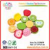 Wooden Fruit Toys For Kids - Food Sticker Toys