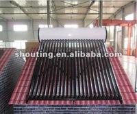 Pressurized Solar Water Heating