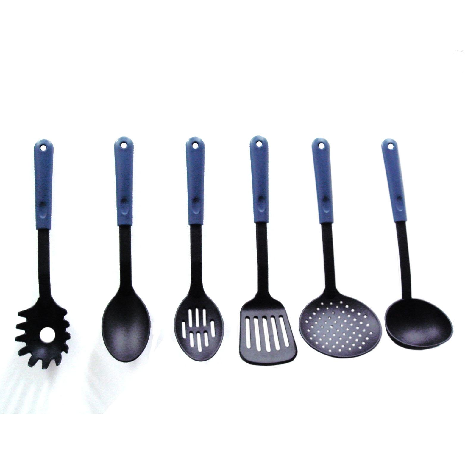 Nylon utensilios de cocina utensilios identificaci n del for Kitchen utensils in spanish