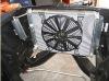 all aluminum radiator and fan universal