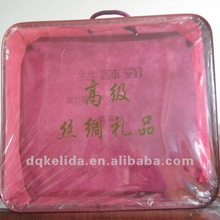 Large Clear storage Non-woven quilt bag with printing