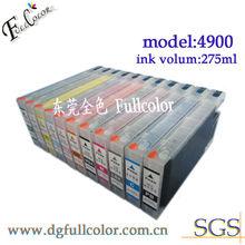 Refill ink cartridge for epson 4900 printer
