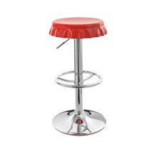 modern adjustable swivel ABS seat bottle cap JR-6060 bar stool