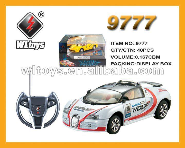 1:43 metal RC toy car remote control toys