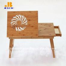 bamboo portable laptop table