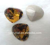 Heart diamond,crystal heart beads