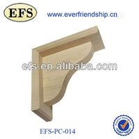 beautiful carved wood shelf bracket pattern