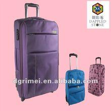 EVA 1680D 3 sizes Built-in Aluminum Trolley luggage case
