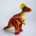vermelho de pelúcia macia pelúcia dinossauro brinquedos educação brinquedo do miúdo