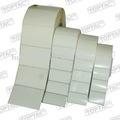Auto adhesivo blanco para imprimir de códigos de barras etiquetas en rollo