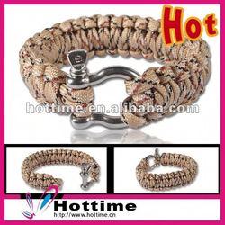 adjustable shackle for bracelet