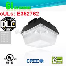 Top quality DLC UL CUL listed 6 years warranty LED car park light