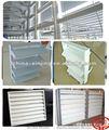 Exterior moderno de lamas de aluminio ventanas / ajustable rejilla de ventilación ( CE )