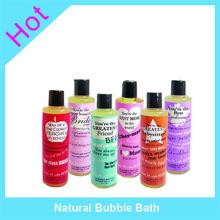 Natural Bubble Bath foam liquid soap