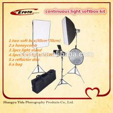 ingrosso attrezzature fotografiche foto studio di illuminazione luce continua softbox kit di illuminazione