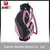 PU leather golf caddie bag