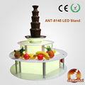 Acrylique conduit chocolazi ant-8145illuminé. base fontaine de chocolat