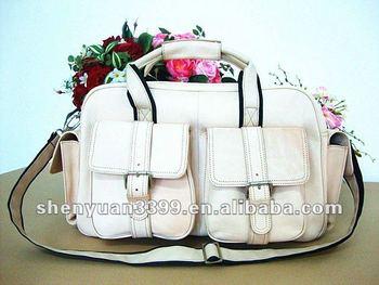 The Newest Fashion Genuine Leather Duffel Bag