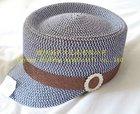 natural straw hat/lady straw baseball cap