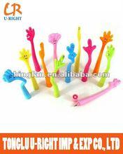 finger shaped ball pen