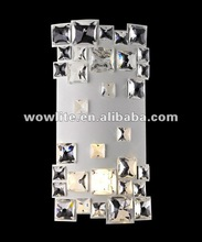 crystal decorative wall lamp B1402-2WH