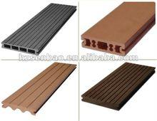 Outdoor Wood-Plastic Composite Decking Boards