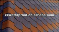 colorful asphalt shingles for roofing