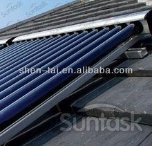 2012 Most Popular 12 Bar Pressure Solar Energy Vacuum Tube Collectors
