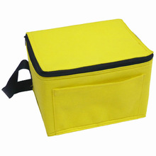 promotional 6 cans insulated cooler bag