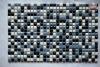 blu and white ceramic mosaic tiles MT119 mixture
